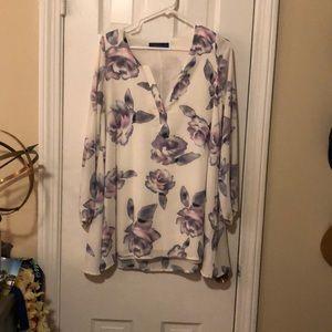 Flower dress or tunic